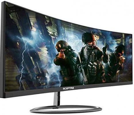 Sceptre C305W-2560UN 30-inch Super Curved Monitor