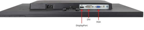 DisplayPort - DVI - VGA