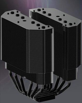 Dual Tower Heat Sink