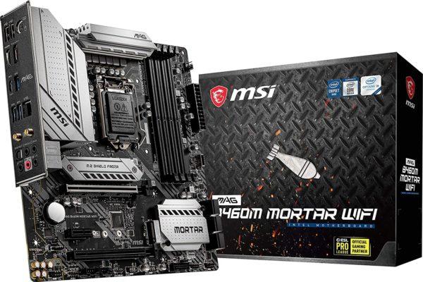 MSI MAG B460M Mortar WiFi