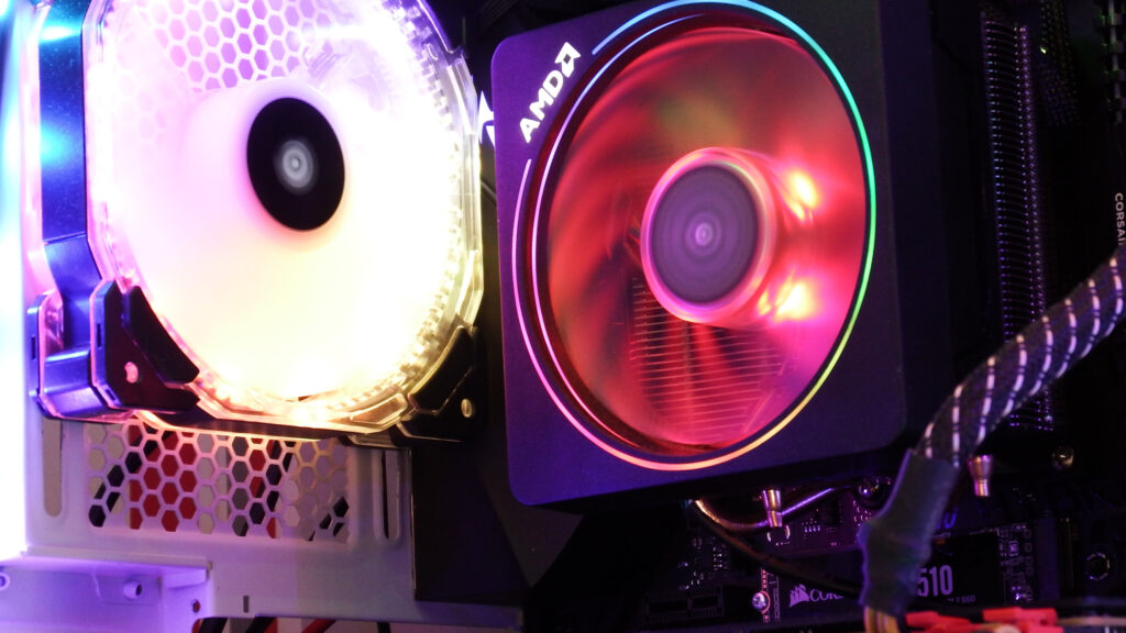 AMD RGB CPU Air Cooler