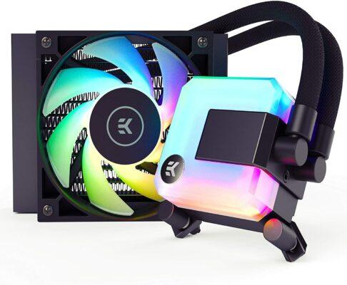 EK 120mm AIO D-RGB Liquid CPU Cooler