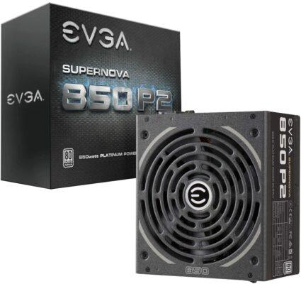 EVGA SuperNOVA 850W Fully Modular Power Supply (850 P2)