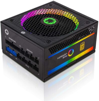 GAMEMAX 850W Fully Modular Power Supply (RGB-850)