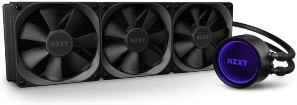 NZXT Kraken X73 360mm AIO RGB CPU Liquid Cooler RL-KRX73-01