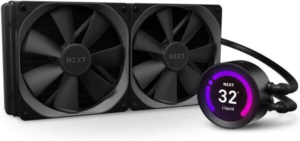 NZXT Kraken Z63 280mm - RL-KRZ63-01 - AIO RGB CPU Liquid Cooler
