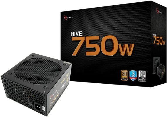 Rosewill Hive-750W 80 Plus Bronze Power Supply
