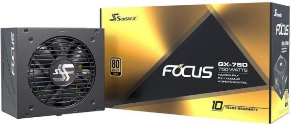 Seasonic FOCUS 750 Watt Fully Modular Power Supply (GX-750)