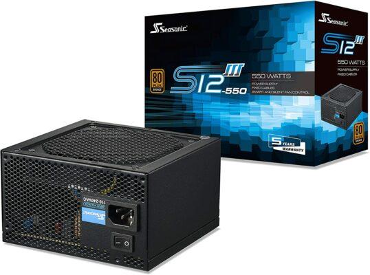 Seasonic S12III 550W Power Supply