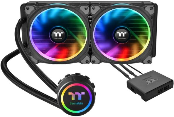 Thermaltake Floe Dual Riing RGB 280 TT Premium Edition CPU Liquid Cooler