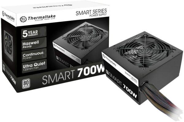 Thermaltake Smart 700W 80+ White Certified Power Supply