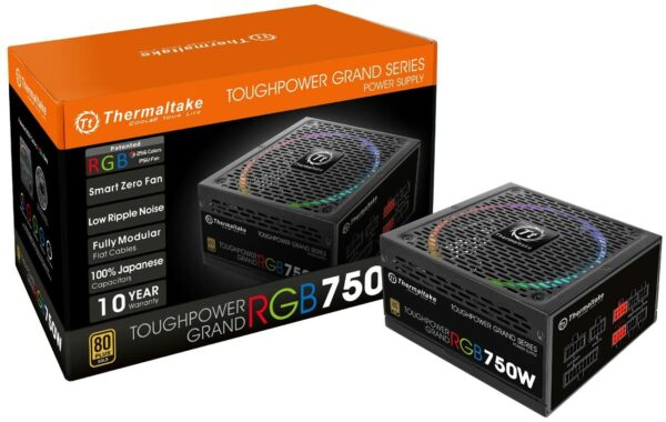 Thermaltake Toughpower Grand RGB 750W Fully Modular Power Supply