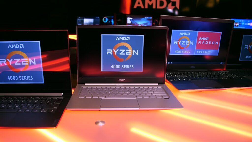 AMD Ryzen 4000 Series Laptops
