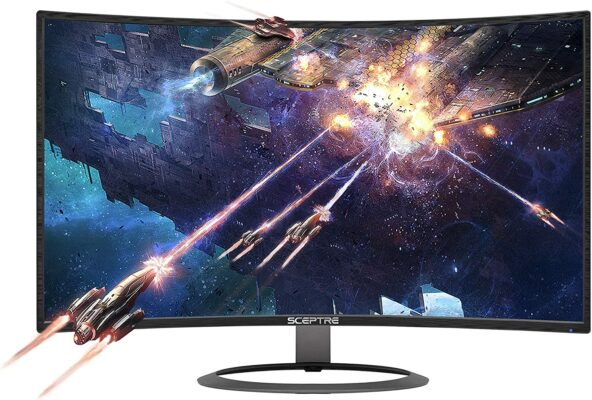 """Sceptre 27"""" Curved 75Hz LED Monitor (C278W)"""