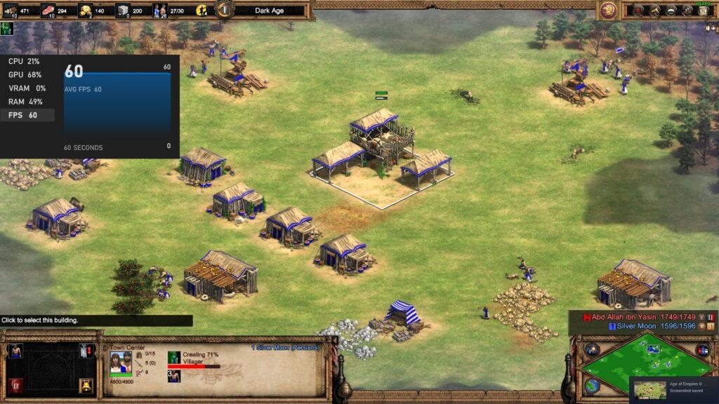 Age of Empires 2 DE - Acer Swift 3 SF314-59-524M