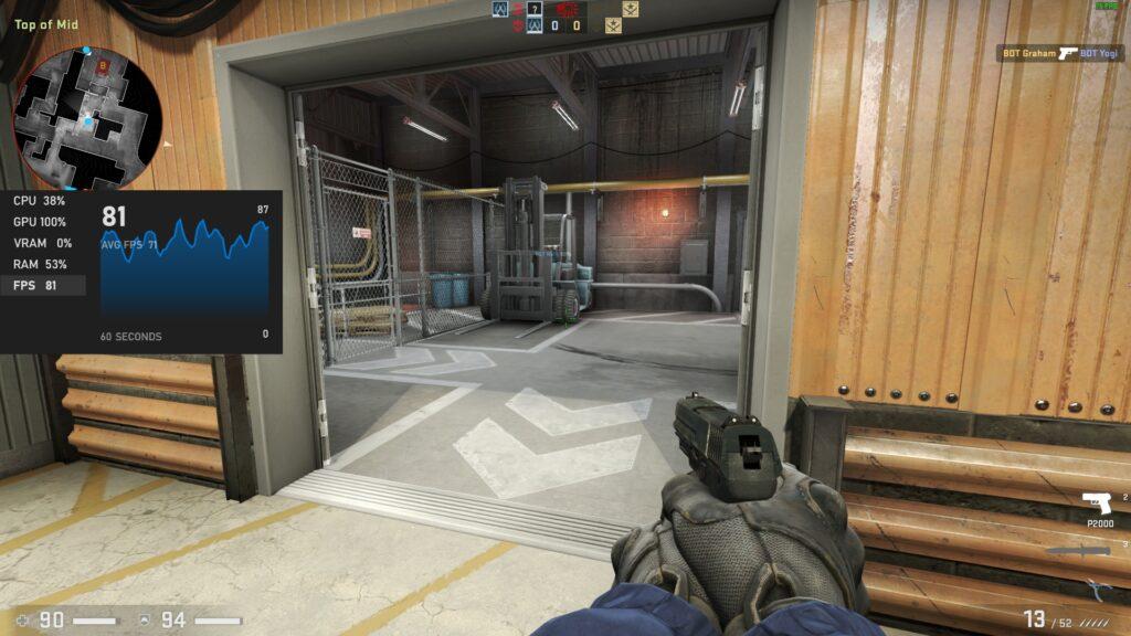 Counter Strike - 2x MAA Setting - Acer Swift 3 SF314-59-524M
