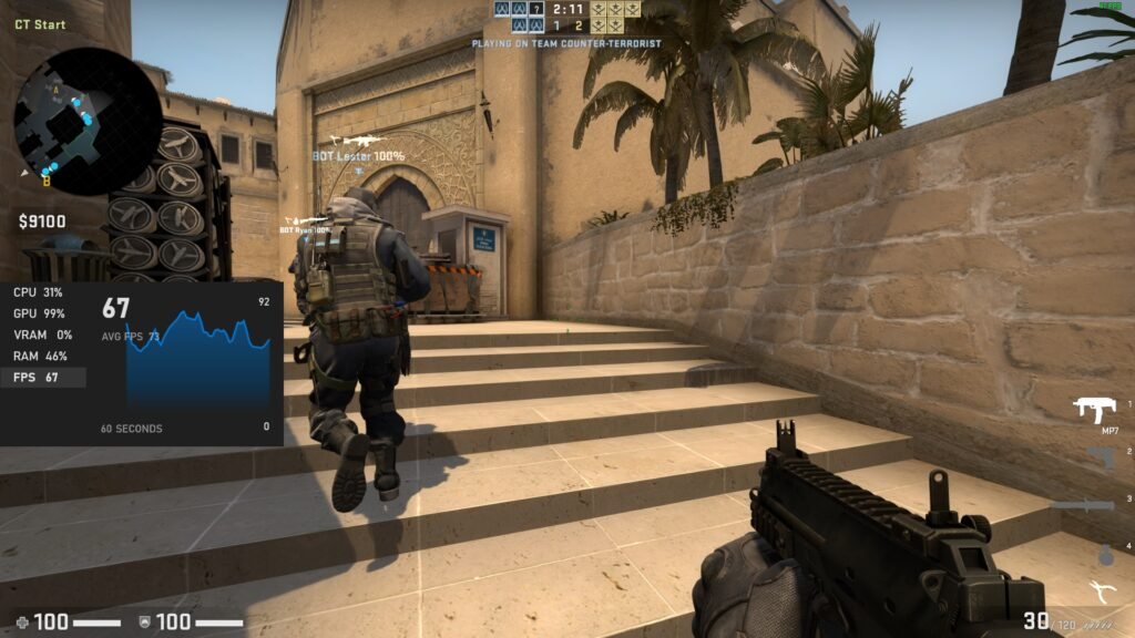 Counter Strike - Low Graphics - Acer Swift 3 SF314-59-524M
