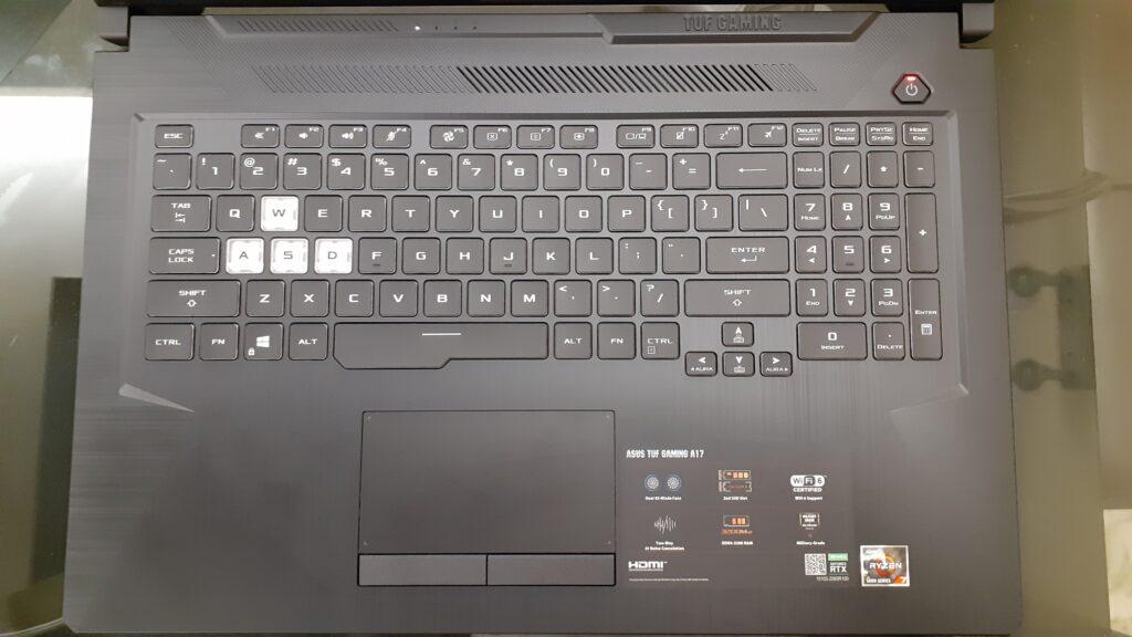 Keyboard - Asus TUF A17 FA706QM-HX008TS